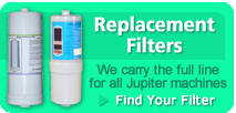 Jupiter Water Ionizer Replacement Filters